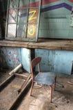 椅子教室 免版税图库摄影