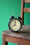 椅子时钟 库存图片