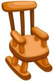 椅子晃动木 库存照片