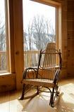 椅子晃动的视窗 免版税库存图片