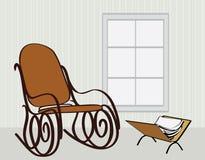 椅子晃动 免版税库存照片