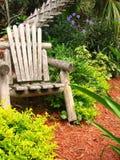 椅子木头 库存图片