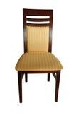 椅子查出木 免版税图库摄影