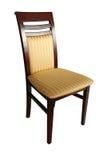 椅子查出的木 免版税图库摄影