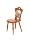 椅子查出的空白木 库存照片