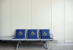 椅子残疾人 免版税图库摄影