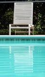 椅子池 免版税库存照片