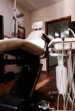 椅子牙齿查询工具 免版税库存照片