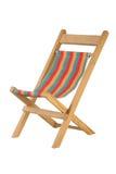 椅子甲板 免版税库存图片
