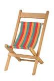 椅子甲板 免版税库存照片