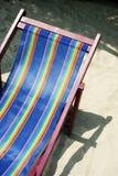 椅子甲板 库存图片