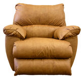 椅子皮革可躺式椅摇摆物 免版税库存图片