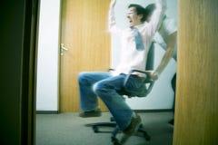 椅子种族 图库摄影