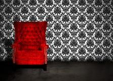 椅子空的空间 免版税图库摄影