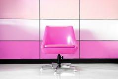椅子粉红色 库存照片