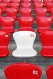 椅子红色 免版税图库摄影