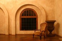 椅子维多利亚女王时代的著名人物 免版税库存图片