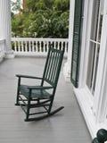 椅子绿色晃动 库存照片