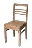 椅子老柚木树 免版税库存图片
