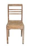 椅子老柚木树 库存照片