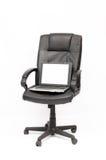 椅子膝上型计算机 免版税库存图片