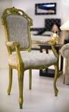 椅子葡萄酒 库存图片