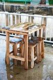 椅子装饰 库存照片