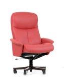 椅子豪华办公室红色 免版税库存图片