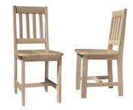 椅子轻的木头 免版税库存照片