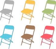 椅子集 免版税库存照片