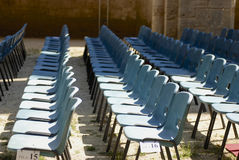 组椅子 免版税图库摄影
