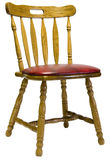 椅子dinette橡木端 库存图片