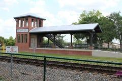 植物城市火车站 库存照片