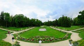 植物的公园在Palange 免版税库存图片