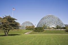 植物的圆顶庭院 免版税库存图片