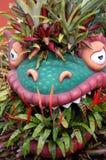 植物的龙 免版税库存图片