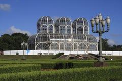 植物的curitiba庭院 图库摄影