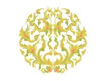 植物群艺术样式 皇族释放例证