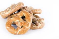椒盐脆饼发酵母 图库摄影