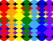 椭圆的扭转的样式 库存照片