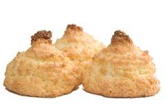 椰子曲奇饼 图库摄影