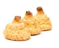 椰子曲奇饼 免版税库存图片