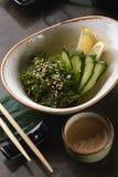 椰子汤用海鲜 库存照片