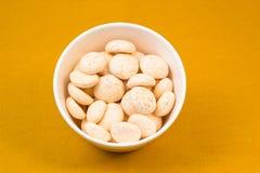 椰子蛋白甜饼 免版税库存图片