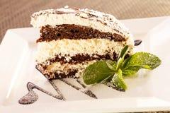 椰子蛋糕 免版税库存图片