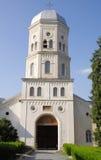 椰树修道院,多布罗加,罗马尼亚 图库摄影