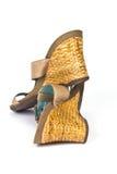 楔子鞋子 免版税库存图片
