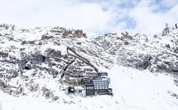 楚格峰旅行照片- Germany's高山 免版税图库摄影