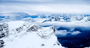 楚格峰旅行照片- Germany's高山 免版税库存图片