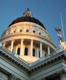 楼加州加利福尼亚国会大厦萨加门多状态 免版税库存照片